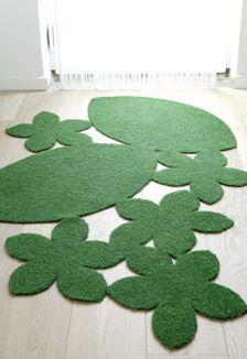 Een grasveldje in je kamer naar eigen wens
