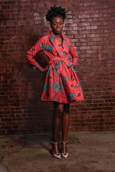 NEW The Gugu Wrap Coat Dress by DemestiksNewYork on Etsy, $165.00: