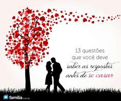13 questões que você deve saber as respostas antes de se casar