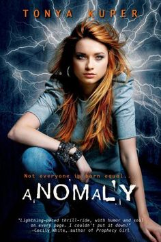 Anomaly by Tonya Kuper. This is a typical urban fantasy YA novel. It's well written, and the world building is done well. #books #reading #youngadult #bookworm  - Batch of Books