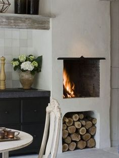 Most recent Snap Shots kitchen Fireplace Ideas Concepts People like a hearth so listed below are some fireplace ideas to fire an individual right up! Of course there exists a p Kitchen Fireplace, Decor, Home Kitchens, House Design, Fireplace Design, Sweet Home, Home Decor, House Interior, Fireplace