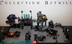 Batman Lego Batcave custom