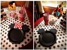 Home Confetti: Mickey and Minnie Birthday Party