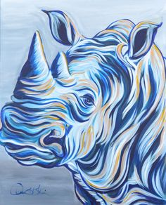 View Rhino by Joanne H Kim. Browse more art for sale at great prices. New art added daily. Buy original art direct from international artists. Shop now