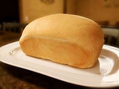 Homemade Sandwich Bread Recipe- make bread at home for pennies a loaf! 5 ingredi… Homemade Sandwich Bread Recipe – Prepare bread for pennies at home! Only 5 ingredients. Homemade Sandwich Bread, Sandwich Bread Recipes, Bread Machine Recipes, Homemade Breads, Real Food Recipes, Dessert Recipes, Cooking Recipes, Yummy Food, Desserts