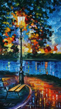 Leonid Afremov Love again... so whimsical yet realistic at the same time