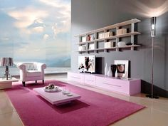 Modern and Minimalis Family Room Interior Design