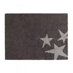 Alfombra de pelo redonda blanca 150 cm ugo alfombras - Alfombra estrellas ikea ...