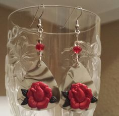 Guitar Pick Earrings By Betsy's Jewelry - Rock-a-Billy, Tattoo Style at BetsysJewelry, $8.00