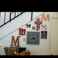 Letter wall