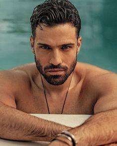 Moustache, Little Bit, Handsome Faces, Many Faces, People Magazine, Models, Bearded Men, Cute Guys, Greece