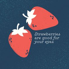 VITAMIN C FOUND IN STRAWBERRIES protects your eyes from developing cataracts and macular degeneration later in life! #loveyourface #didyouknow #optometry #flagstaffoptometrist #flagstaffaz #eyecare #eyes