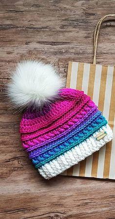 Crochet Patrones Gorros Mujer New Ideas Crochet Beanie, Crochet Shawl, Crochet Baby, Knitted Hats, Knit Crochet, Crochet Flower, Loom Knitting, Baby Knitting, Knitting Patterns