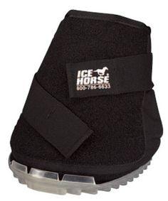 Ice Horse Big Black Hoof Boot <>