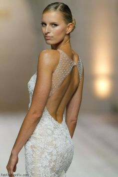 Karolina Kurkova for Pronovias 2015 Bridal Collection