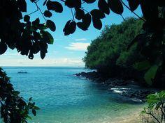 Blue lagoon beach at Padangbali #bali