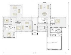 for lots, house layout is a very daunting technique. understanding by which to s… for lots, house layout is a very daunting technique. House Plans One Story, New House Plans, Modern House Plans, Small House Plans, House Floor Plans, Farmhouse Plans, Farmhouse Design, Minecraft Modern House Designs, Latest House Designs