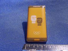 2016 Rio Olympic Sponsor Pin Samsung Boxing