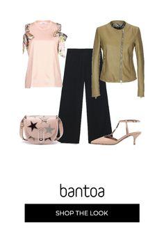 b60a6bc8dad1b Aria di primavera  outfit donna Trendy per serata fuori