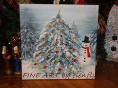 Fine Art Elenfly: CHILDRENS CHRISTMAS FRAMES LIGHTING