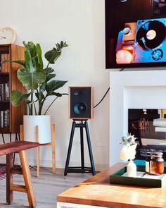 Bookshelf Speaker Stands, Floor Standing Speakers, Audio Studio, Hifi Speakers, Speaker Design, Entertainment Room, Audiophile, Bookshelves, Small Spaces