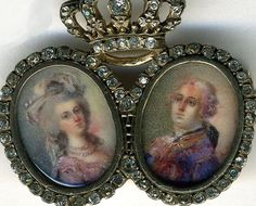Marie Antoinette et Louis XVI