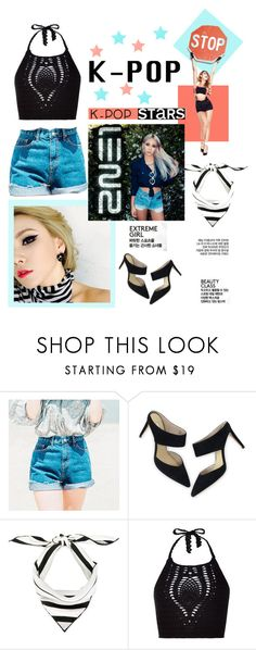 """""""K-Pop"""" by molly2222 ❤ liked on Polyvore featuring Boden, Valentino, New Look, kpop, 2NE1 and cl"""