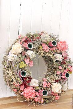 Купить Интерьерная композиция со свечами - розовый, подсвечник, подсвечник с цветами, интерьерная композиция