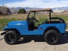 1962 CJ-5 Jeep Ready For Moab - Photo submitted by Jim Johnson.