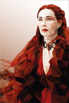 Melisandre Low Poly