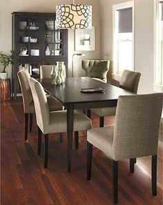 Dining room (furniture from Room & Board)