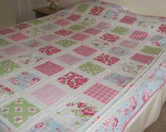 Square Quilt made from Tanya Whelan fabrics - gorgeous!