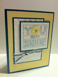 Image result for you are my sunshine stampin'up! stamp