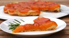 Schwanenkost: Tarte-Tatin-Abricot - vom Sommer geküsst