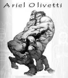 Hulk vs. Venom - Ariel Olivetti