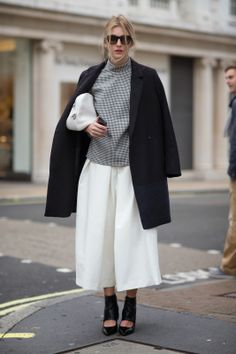 Culottes: Street Style