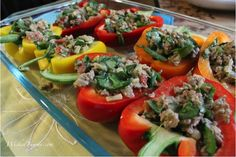 Wicked Yummy: Healthy Stuffed Peppers