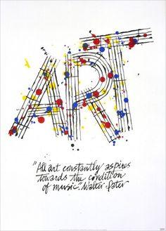 Alan Fletcher, graphic design, poster, typography