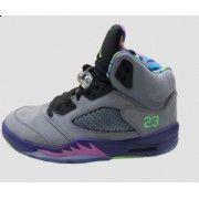 JORDAN 5 RETRO COOL GREY/COURT PURPLE-GAME ROYAL-CLUB PINK   $106.00 http://www.theredkicks.com
