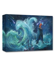 Fantasia Mickey Creates the Magic Limited Edition Wrapped Canvas