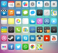 iOS7 Icon Pack by Michael Shanks