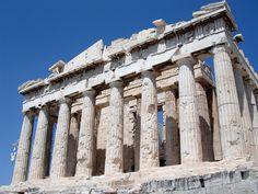 El Partenon, Atenas. Grecia