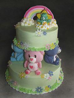 Care Bear Cake by macarbine, via Flickr