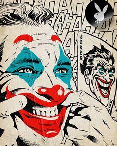 Joker for Playboy Magazine on Behance Joker Images, Joker Pics, Joker Art, Joker Comic, Batman Joker Wallpaper, Joker Wallpapers, Comic Books Art, Comic Art, Book Art