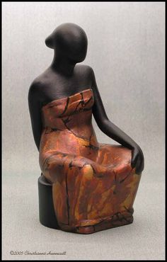 Artist Christianna Hunnicutt creater of female form ceramic sculpture is an interior designer's resource.