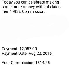 """Start Your Day Like This Too!!!  - Good evening to you too, $514.25...  To begin your week with a $500 commission like this visit our website and start working with me now!   """"Change your thoughts and you change your world."""""""