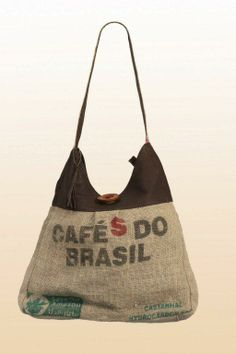 Coffee Bean Hessian Sack  - Lucy Shopper B