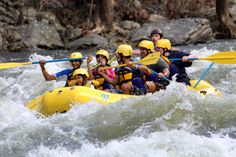 Whitewater rafting in the Smoky Mountains!!