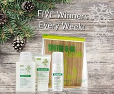 Klorane Hair Product Prize Pack Giveaway on http://hunt4freebies.com/sweepstakes