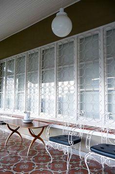 Luxury Security Bars for Basement Window